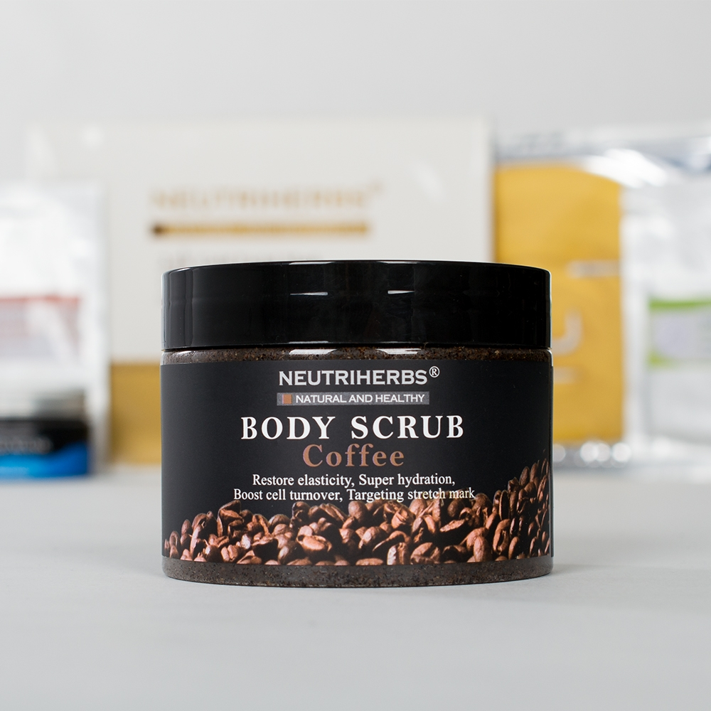 Кофейный скраб для тела Body Scrub Coffee Neutriherbs