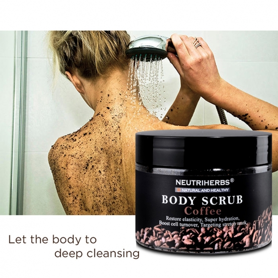 натуральный кофе-скраб для тела - Body Scrub Coffee Neutriherbs
